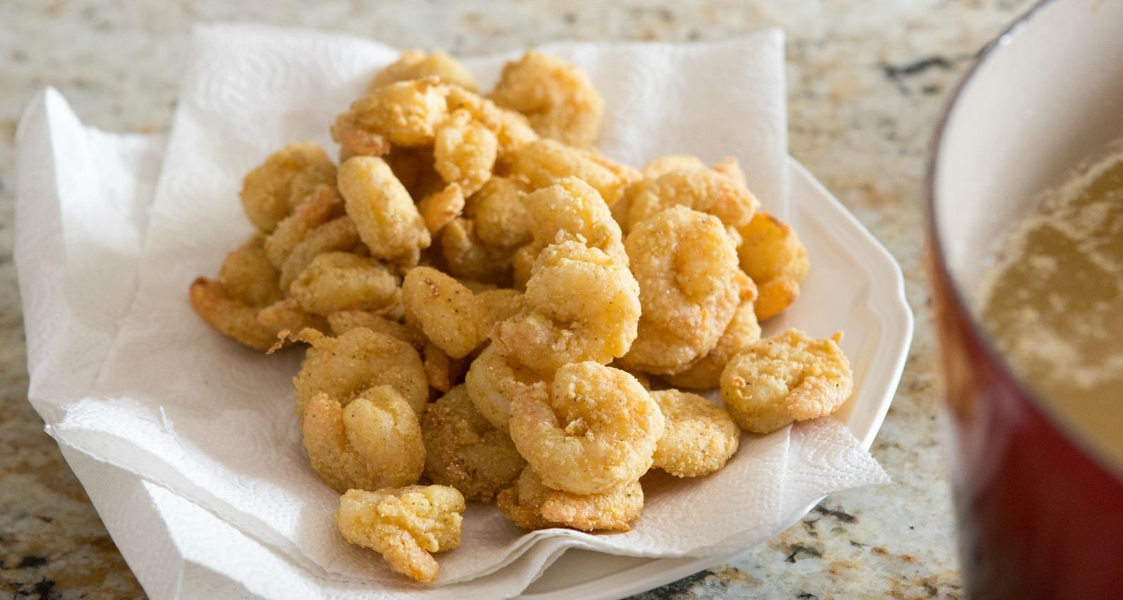 How to fry shrimp 5