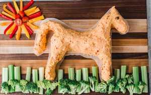 Pimento cheese horse