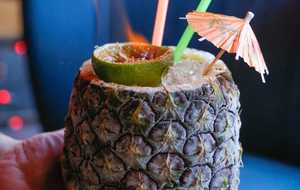Tropical Snow Cocktail