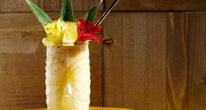 Whiski Tiki cocktail