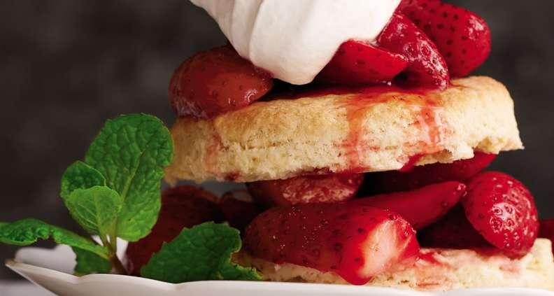 Anne Byrn's Strawberry Shortcake