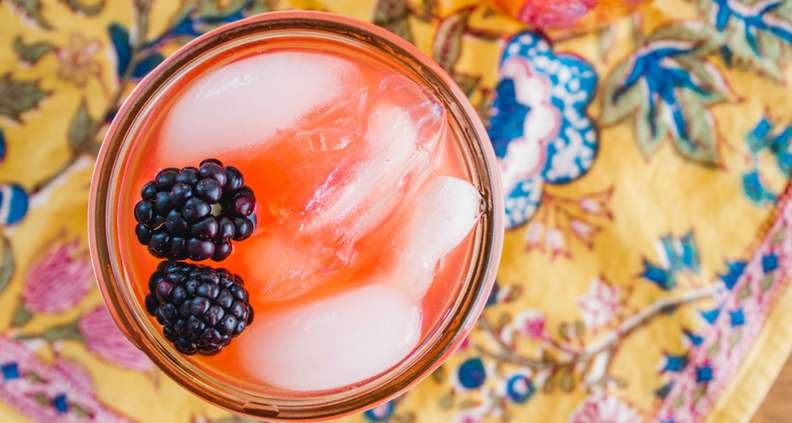 Ginger-Blackberry Vodka Arnold Palmer