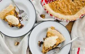 Chocolate and Nut Kentucky Pie