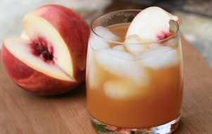 Bourbon Peach Cooler