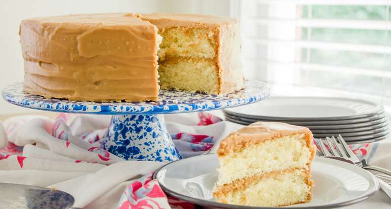 Classic Southern Caramel Cake