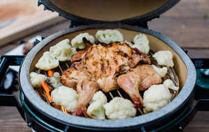 BGE chicken
