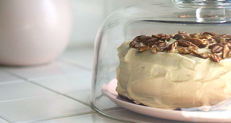 Hummingbird Cake with Mascarpone frosting