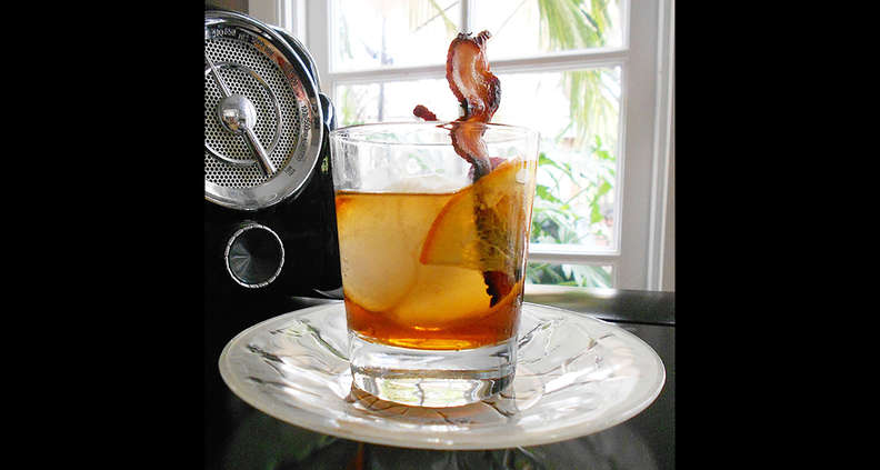 Maple-Bacon Old Fashioned