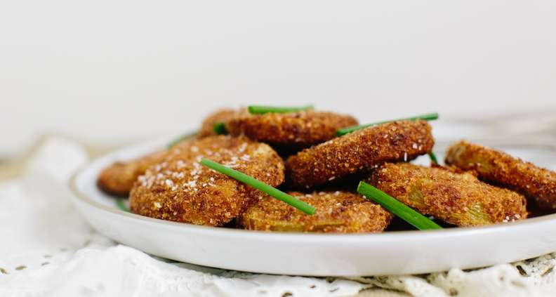 Easy Fried Green Tomatoes