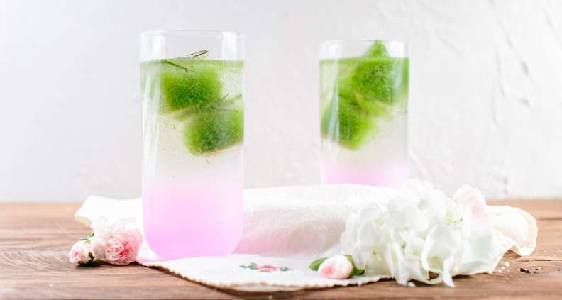 cucumber ice cubes