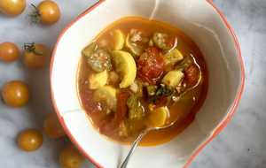 Summer Tomato-Vegetable Soup