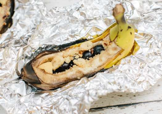 blueberry crunch banana