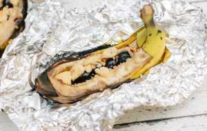 blueberry crunch banana