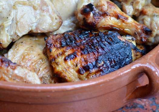 Apple Cider Grilled Chicken
