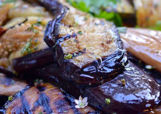 Grilled Squash and Eggplant