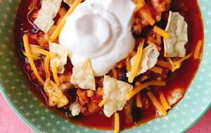 One-Pot Turkey Pumpkin Chili