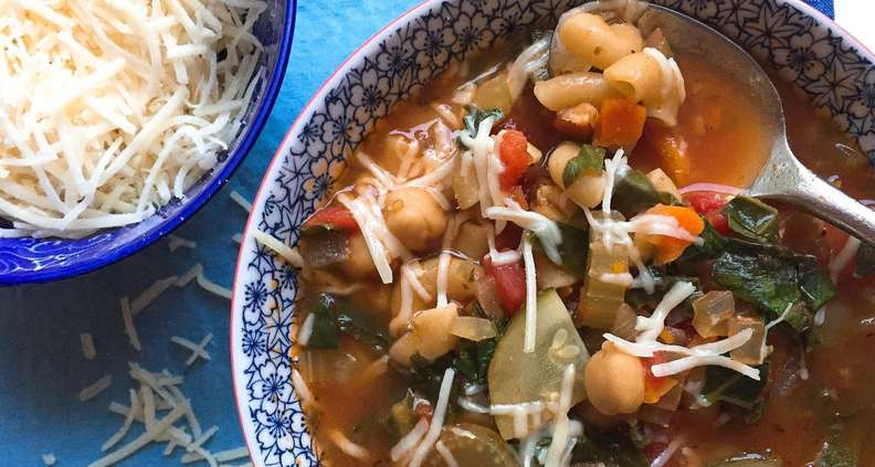 One-Pot Early Fall Minestrone