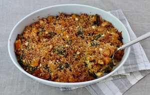 Butternut Squash and Kale Casserole