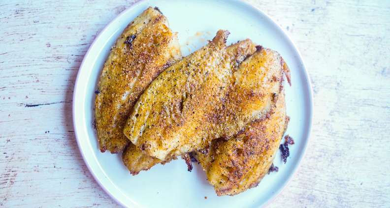 Creole-Broiled Catfish
