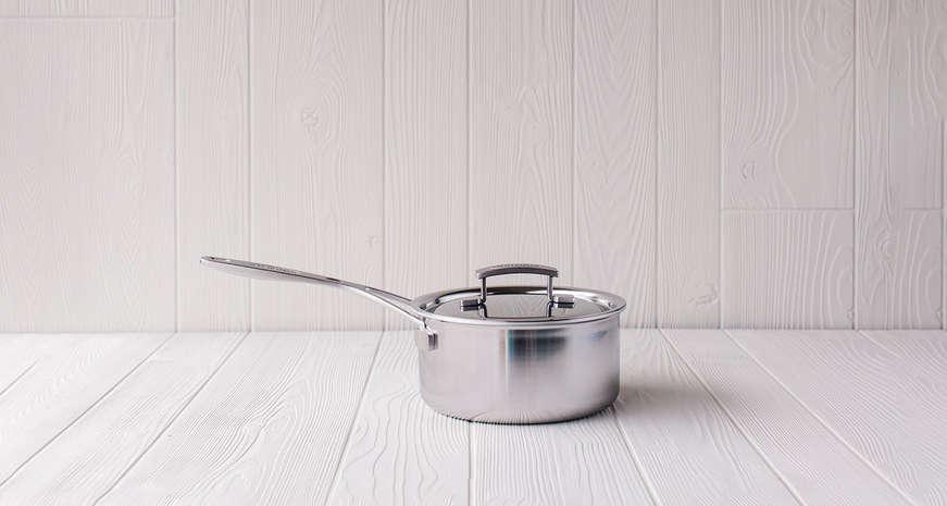 Demeyere 2-quart Stainless Steel Saucepan