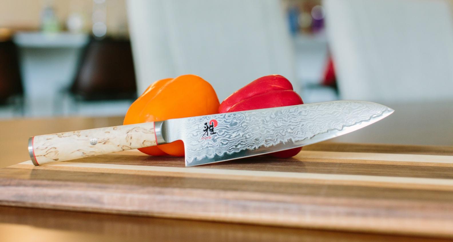 Miyabi Birchwood 7-inch Santoku Knife