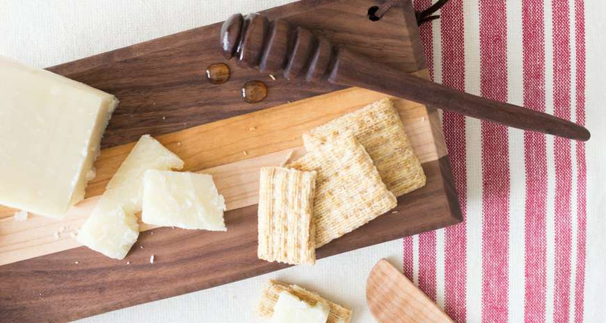 Boothill Blades Cheese Board Set