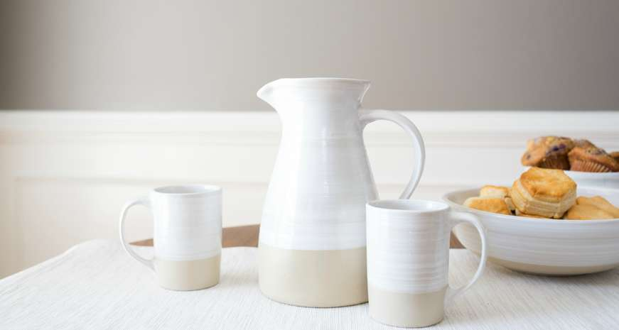 Stoneware & Co. 2 1/2-quart Pitcher