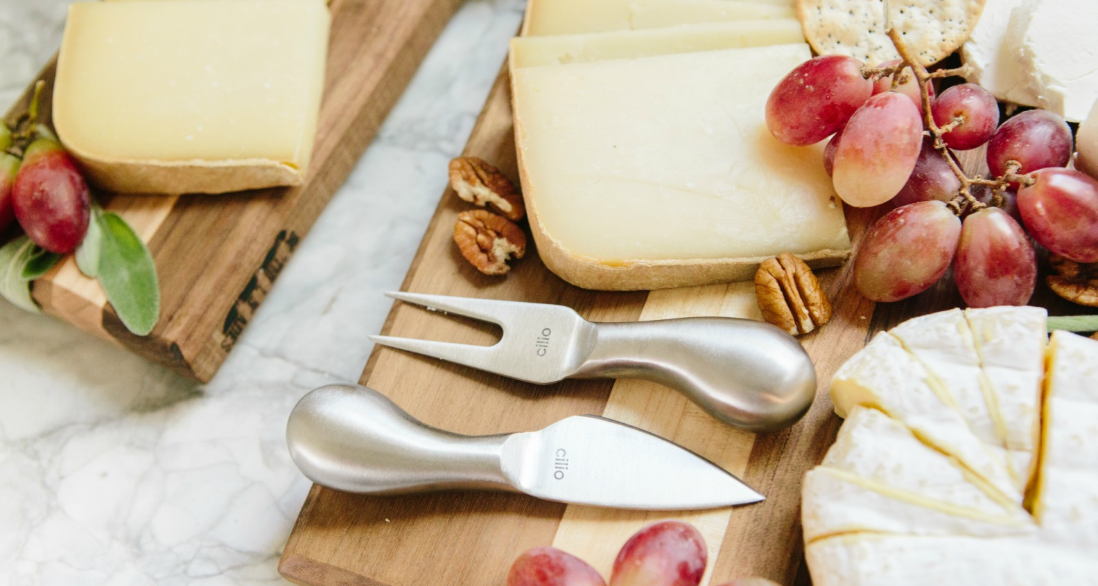 Cilio Piave 4-Piece Cheese Knife Set