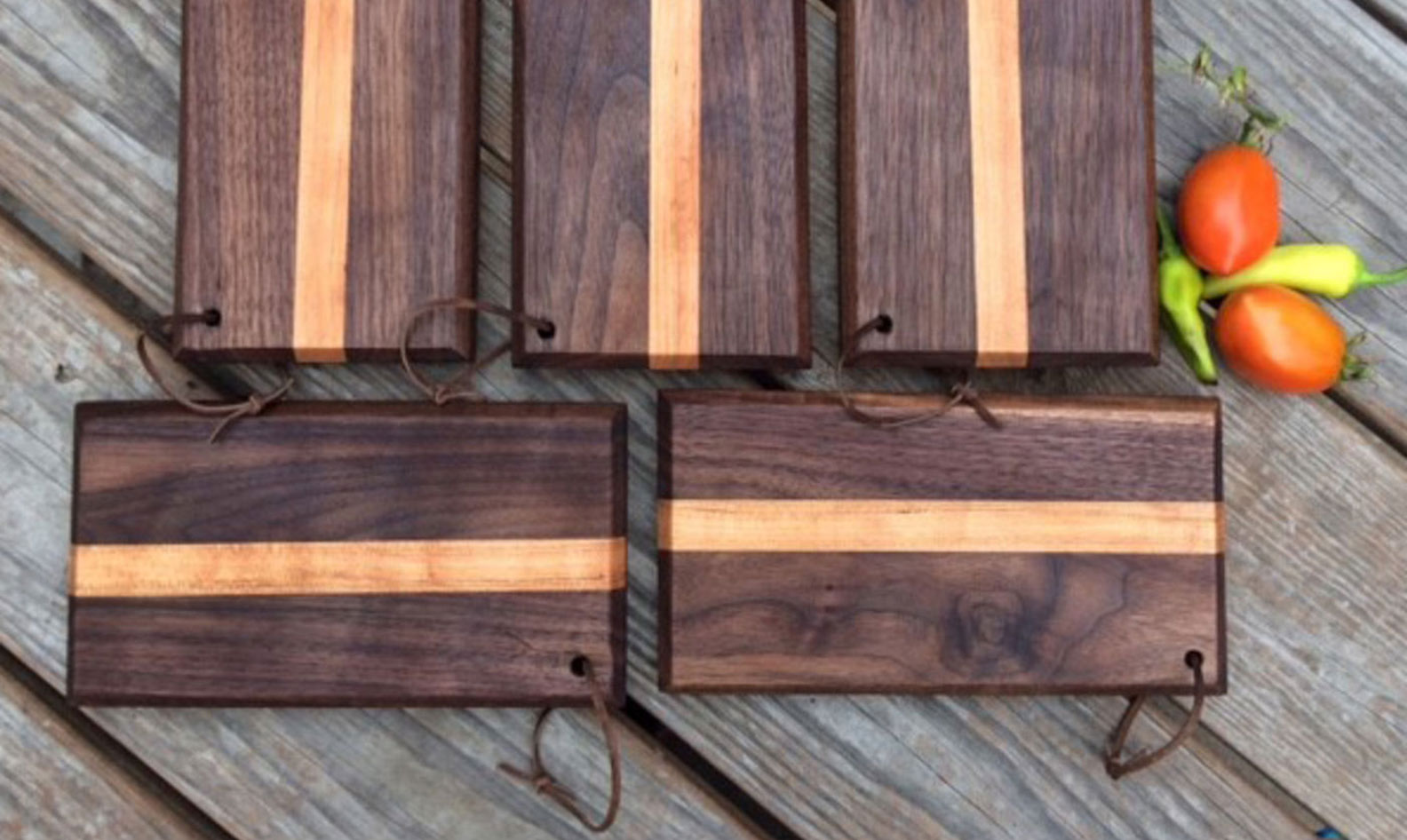 Boothill Blades Fruit and Veggie Boards