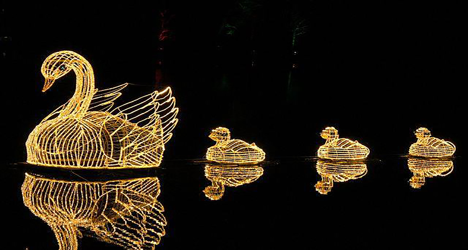 Fantasy in Lights at Callaway Gardens in Pine Mountain, Georgia