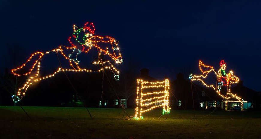 Mega Cavern Christmas Lights.The Best Holiday Festivals In The South Southern Kitchen