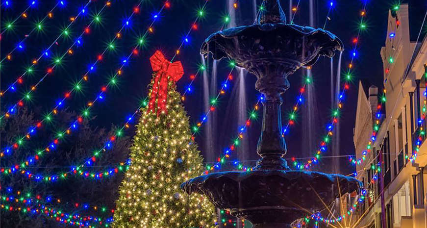 Christmas in Natchitoches, Louisiana
