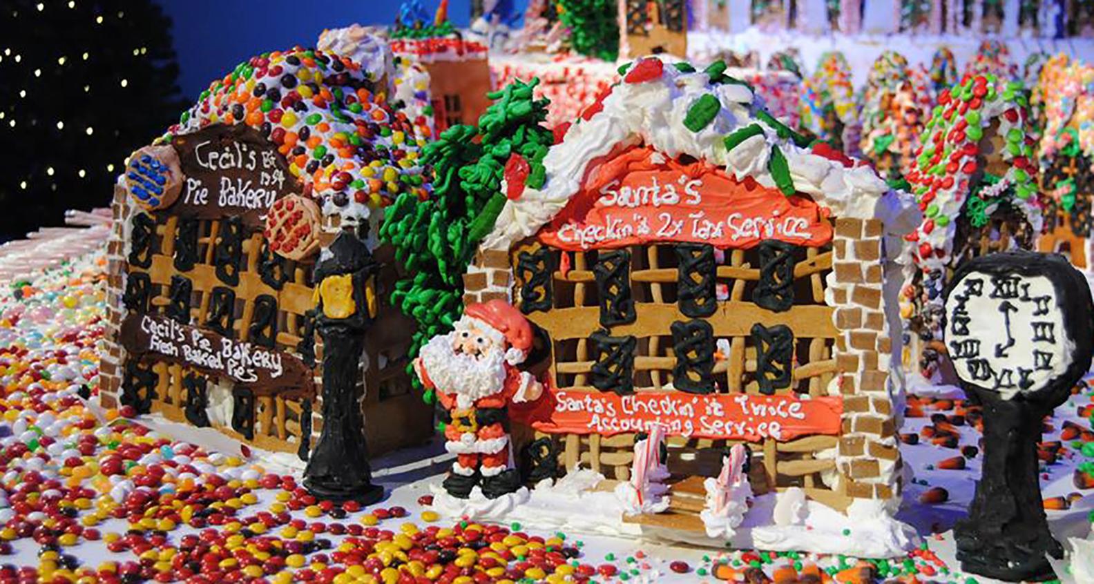 Gingerbread Lane Village