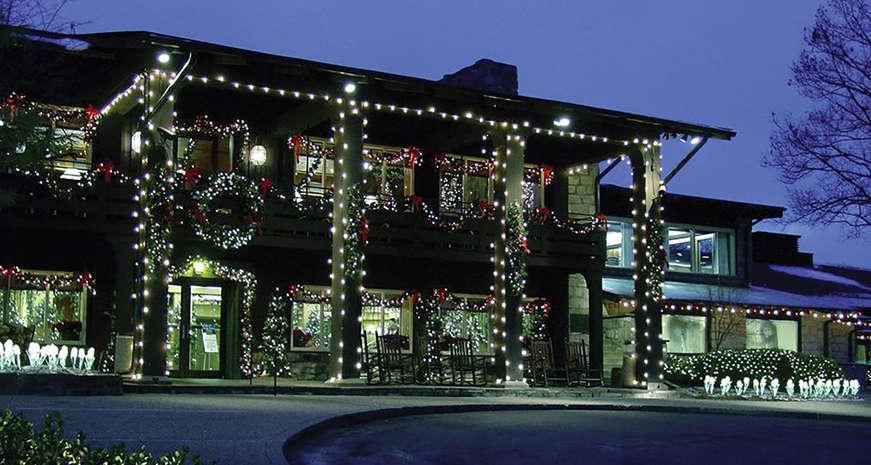 The Oglebay Winterfest of Lights in Wheeling, West Virginia