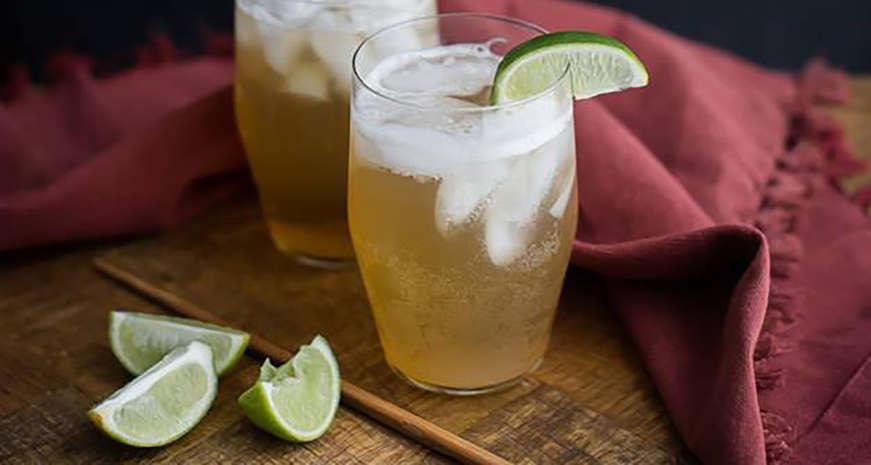 Ginger Lime Fizz
