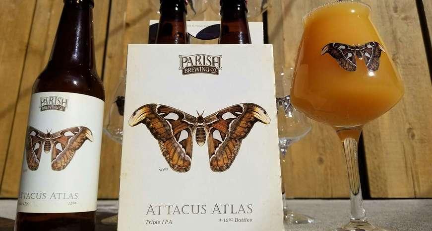 Parish's Attacus Atlas triple IPA