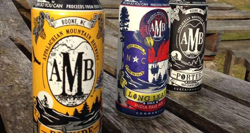 Appalachain Mountain beers