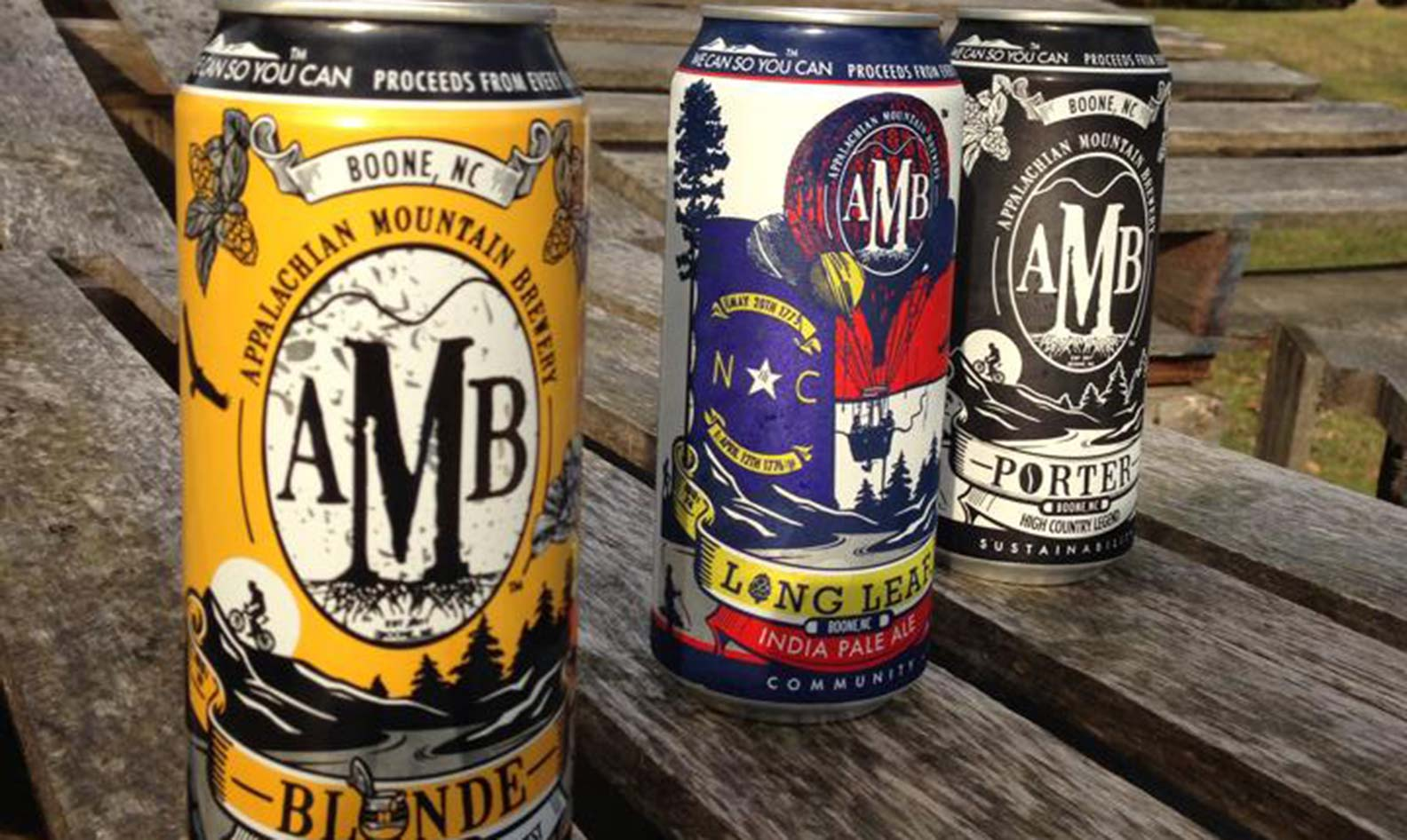 Appalachain Mountain beers