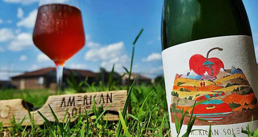 American Solera's Foeder Cerise cherry wild/sour ale