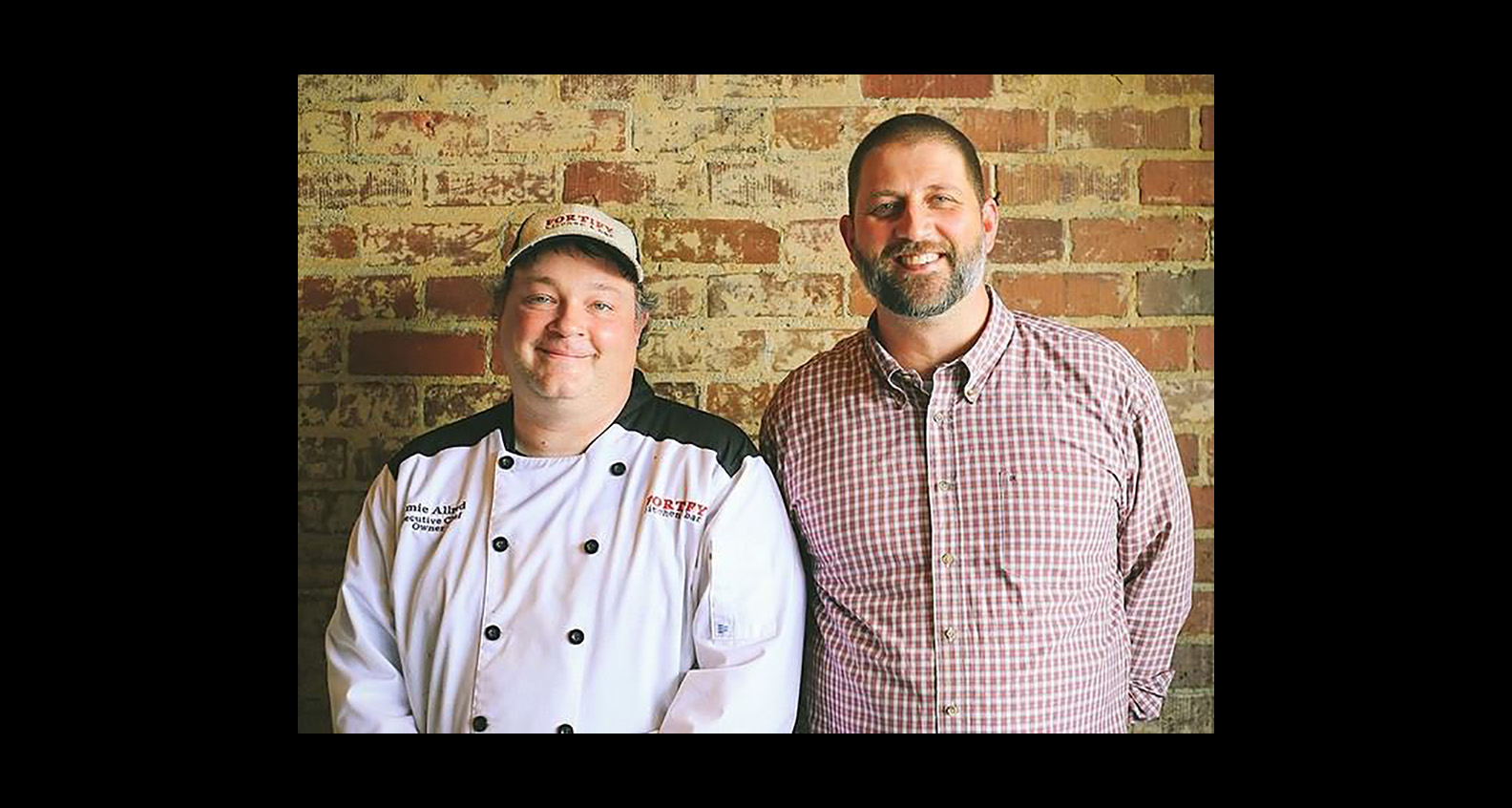 Chef Jamie Allred and Jack Nolan