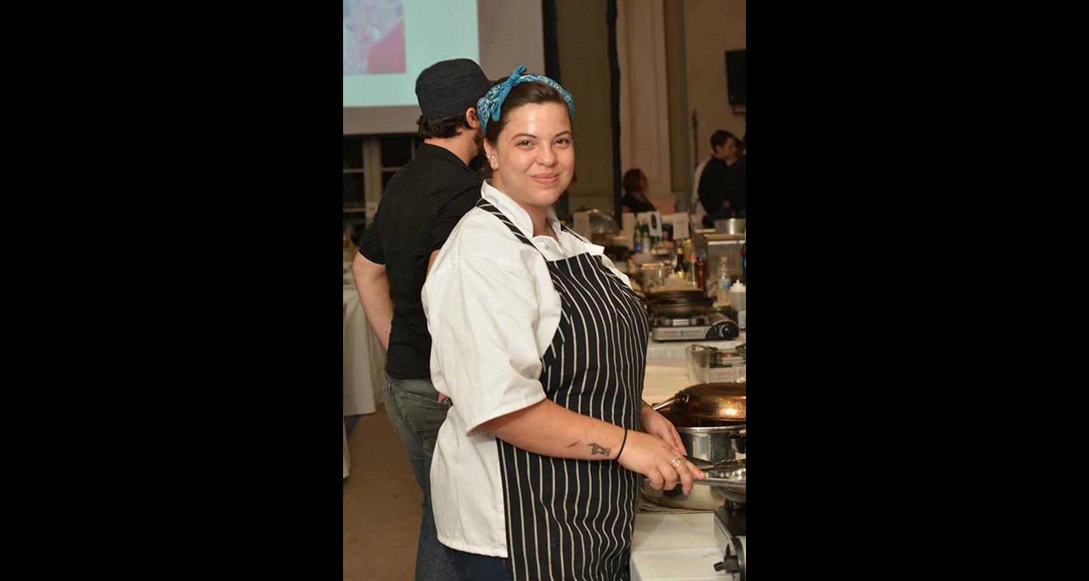 Chef Sarah Acconcia