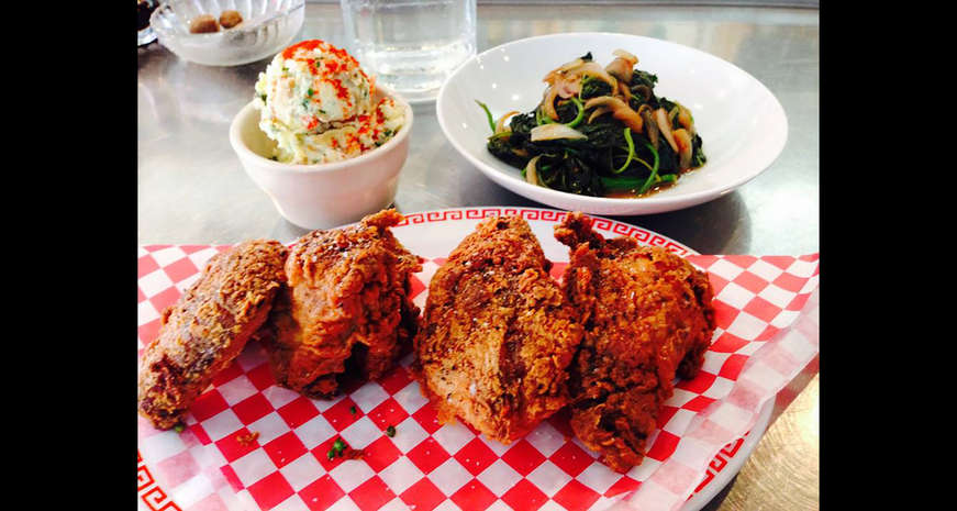 Fried chicken from Miss Ollie's
