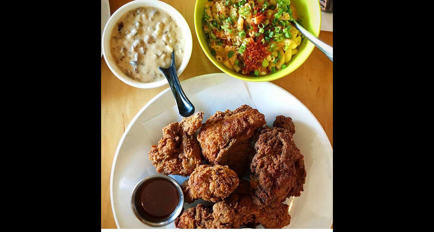 Fried chicken from Ma'Ono