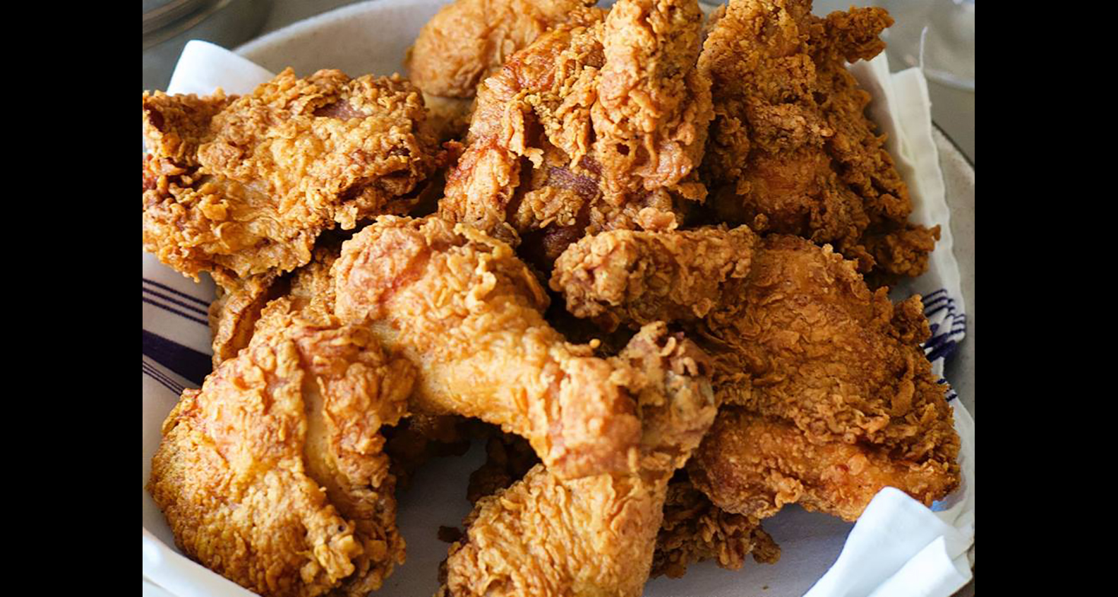 Fried chicken from Low Country Kitchen