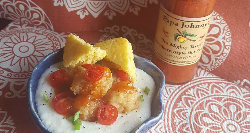 Papa Johnny's Southern Style Hot Sauce