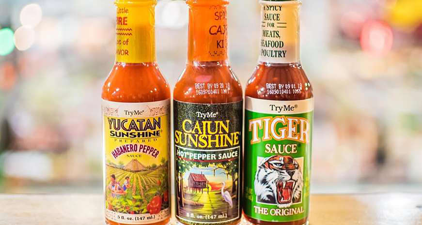 TryMe's Cajun Sunshine Hot Pepper Sauce
