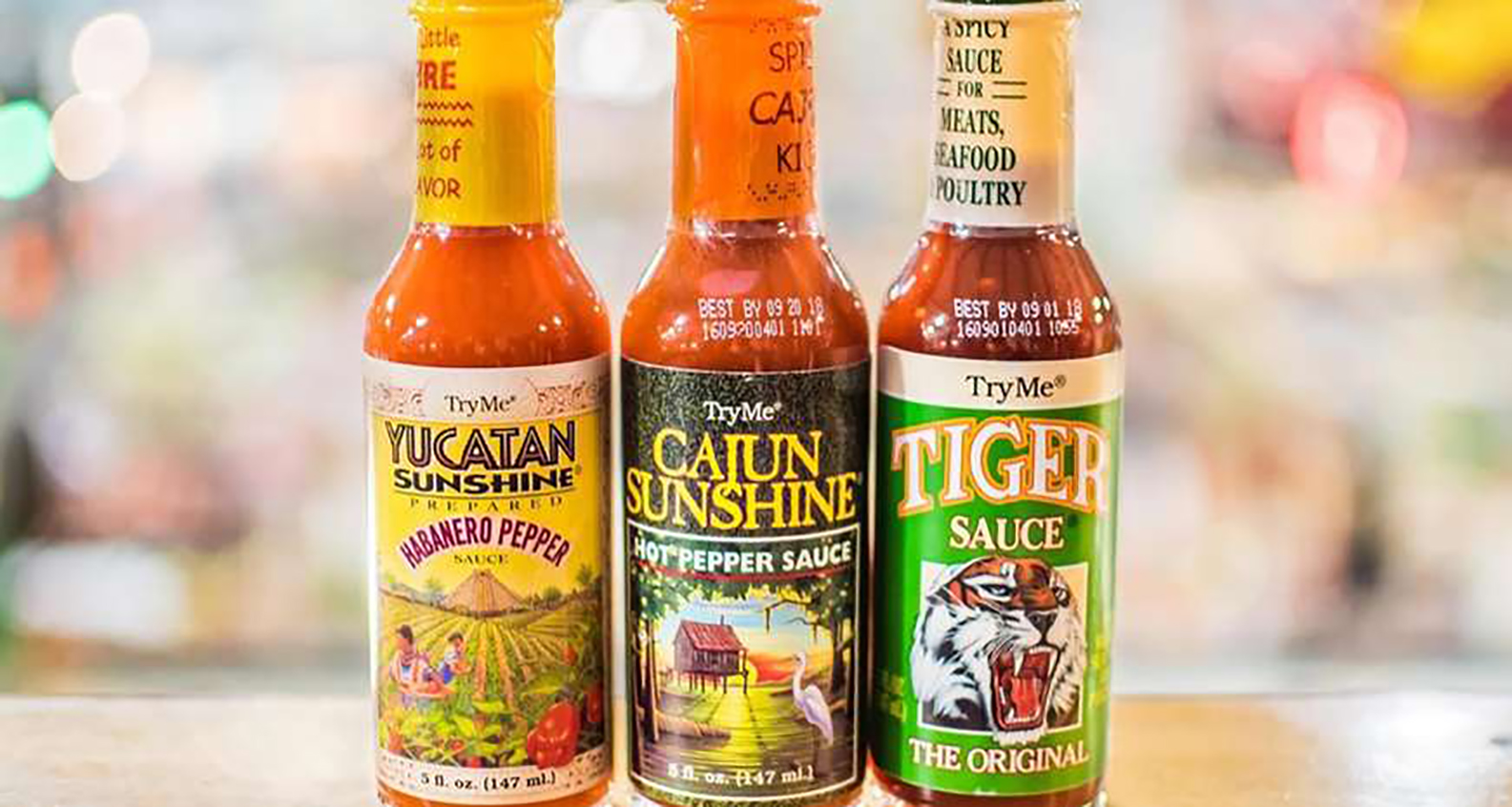 TryMe's Cajun Sunshine Hot Pepper Sauce