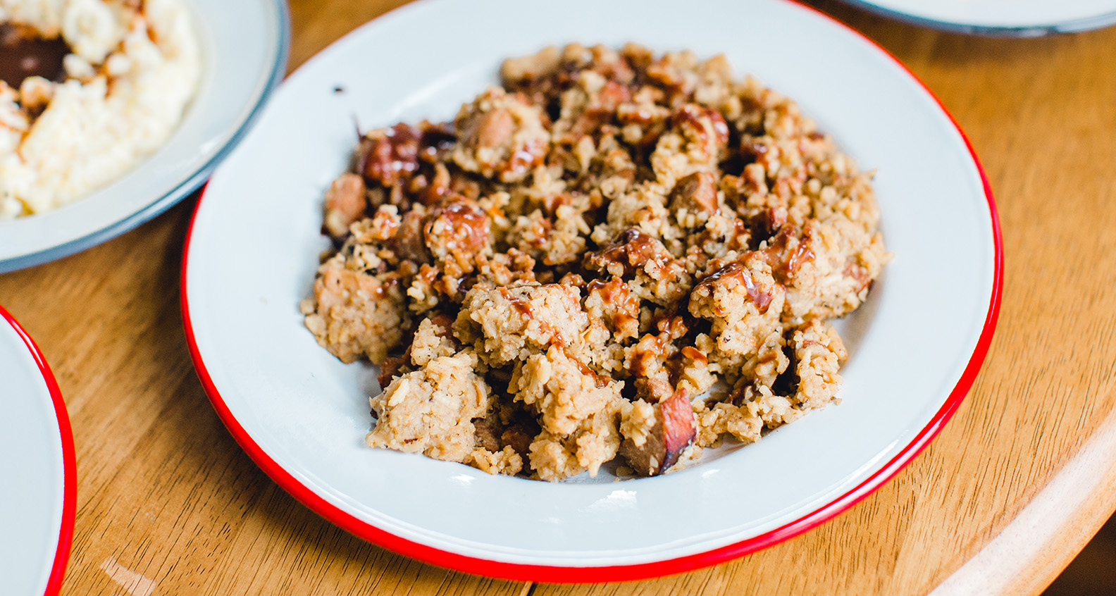Chocolate-covered jambalaya