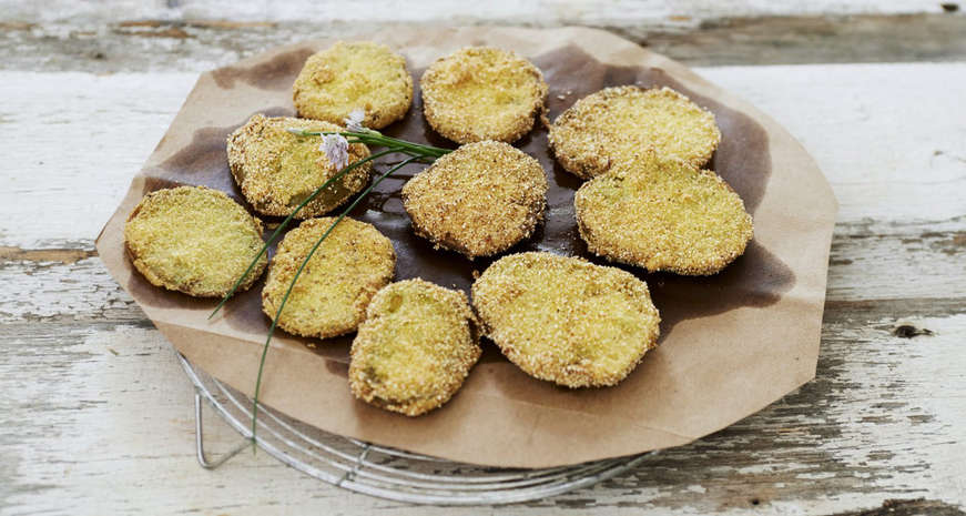 Anne Byrn's Fried Green Tomatoes