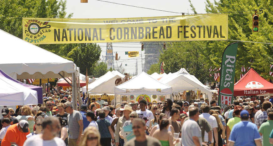 National Cornbread Festival
